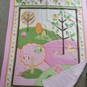 ** TWO DAY SALE** Child's Twin quilt and sheet set